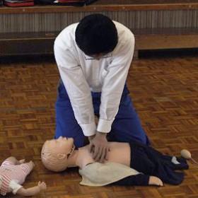 子どもの保健Ⅱ「応急処置」(保育科)
