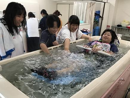 入浴介助①