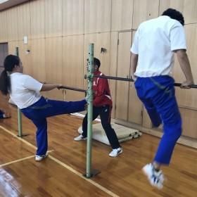 体育 (保育科2年生)