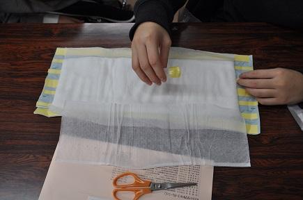 手作り紙おむつ⑥