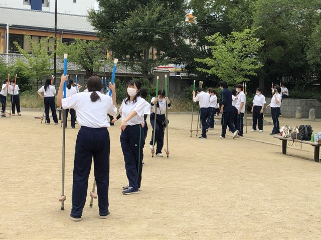 【保育科1年生】体育実技