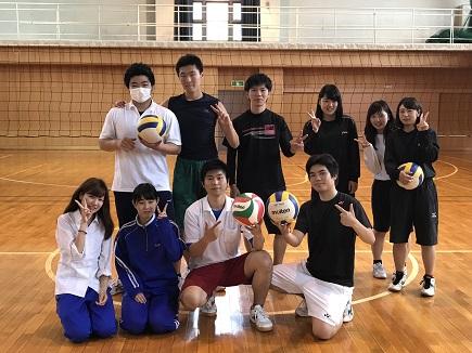 【クラブ紹介】バレーボール部