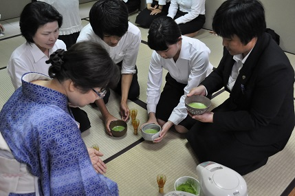 スキルアップ特別講座 「茶道」